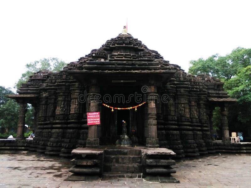 Shiv寺庙  免版税库存图片