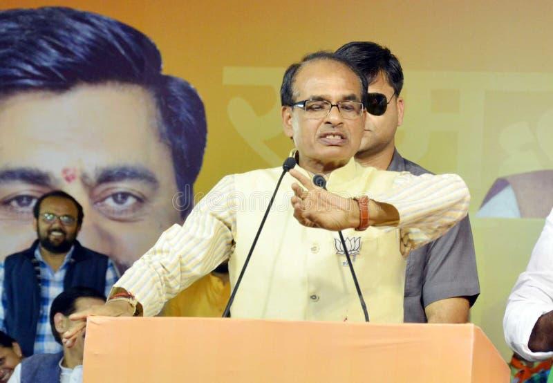 Shiv raj chouhan singh royaltyfri fotografi