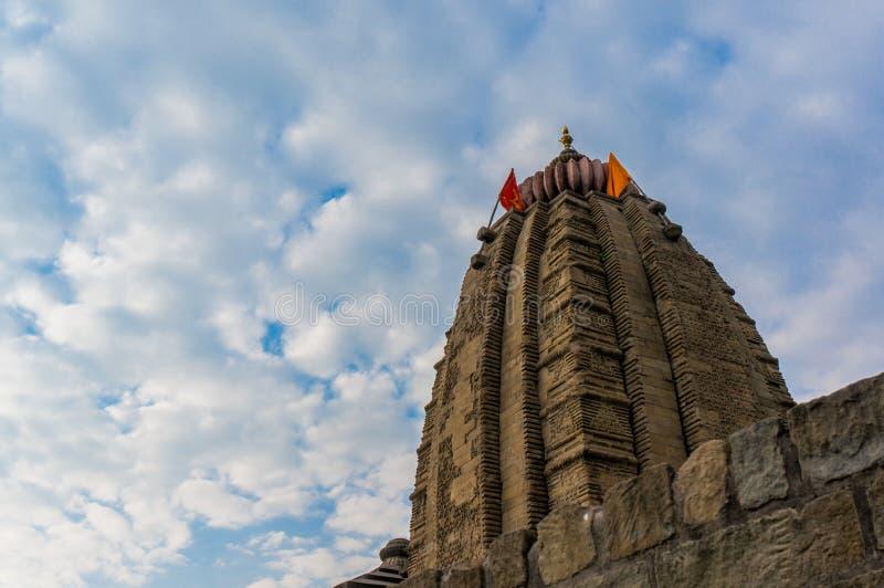 Shiv tempel på Baijnath Himachal Indien royaltyfria foton