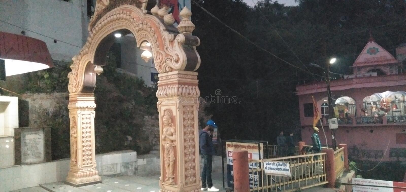 This image Shiv temple in india dehradun uttarakhand. Shiv temple in india dehradun uttarakhand stock image