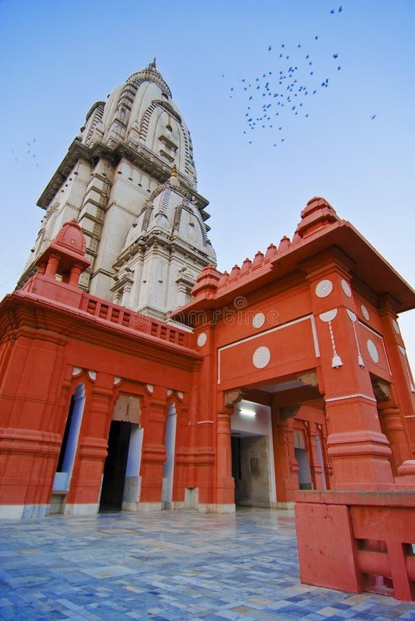 shiva寺庙vishwanath 免版税库存照片