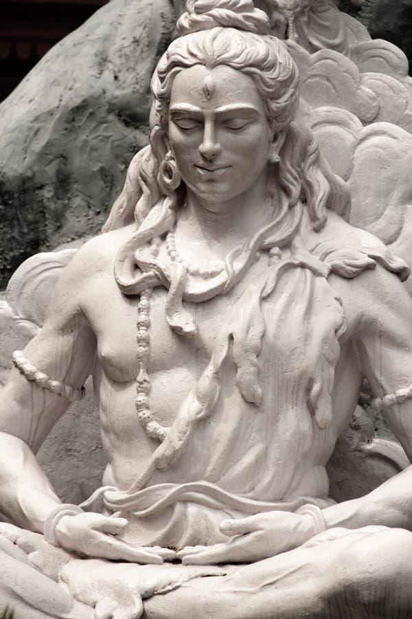 Shiva雕象 库存图片