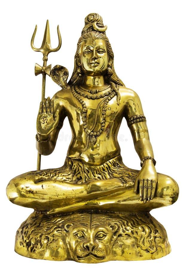Shiva, Θεός της ισχύος στοκ φωτογραφίες