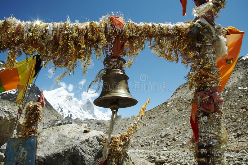 Shiva Anbetung plase lizenzfreies stockbild