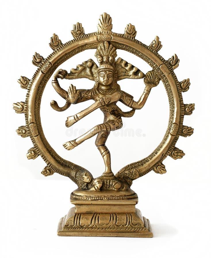 Shiva da dança foto de stock royalty free