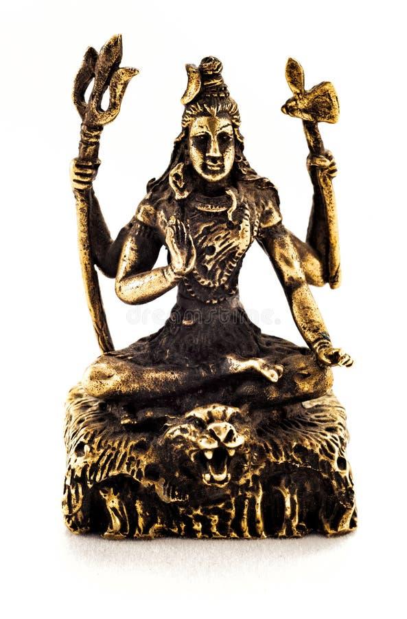 Shiva de bronze fotografia de stock royalty free