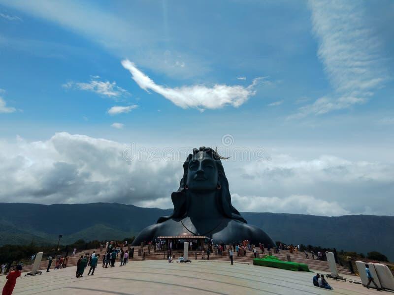Shiva di Adiyogi immagine stock