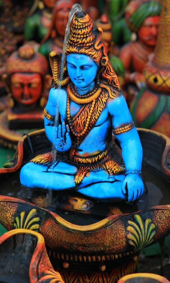 Shiva do senhor fotos de stock