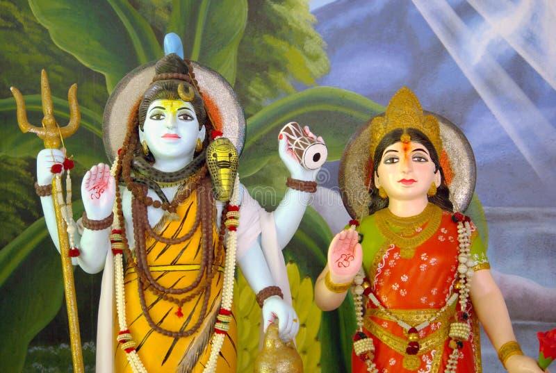 Shiva indio de dios fotos de archivo