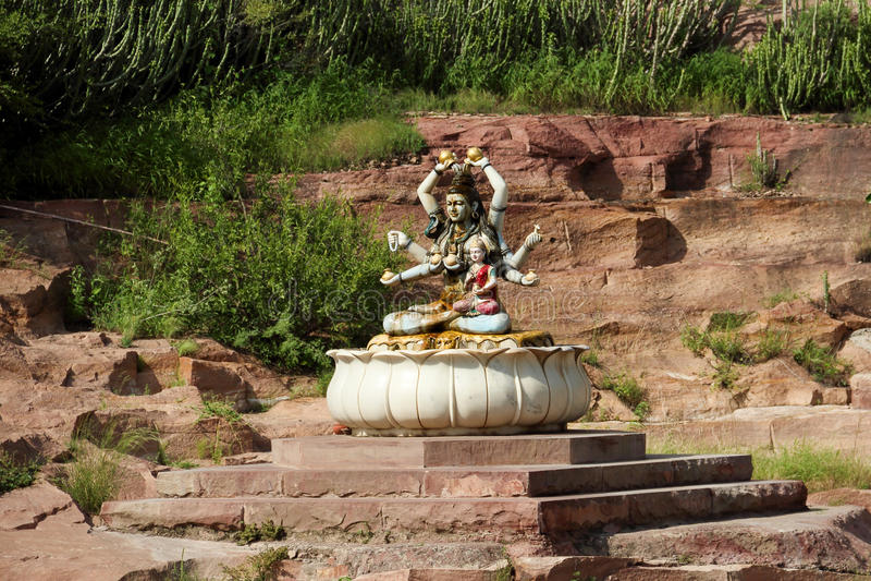 Shiva in Jodhpur lizenzfreies stockfoto