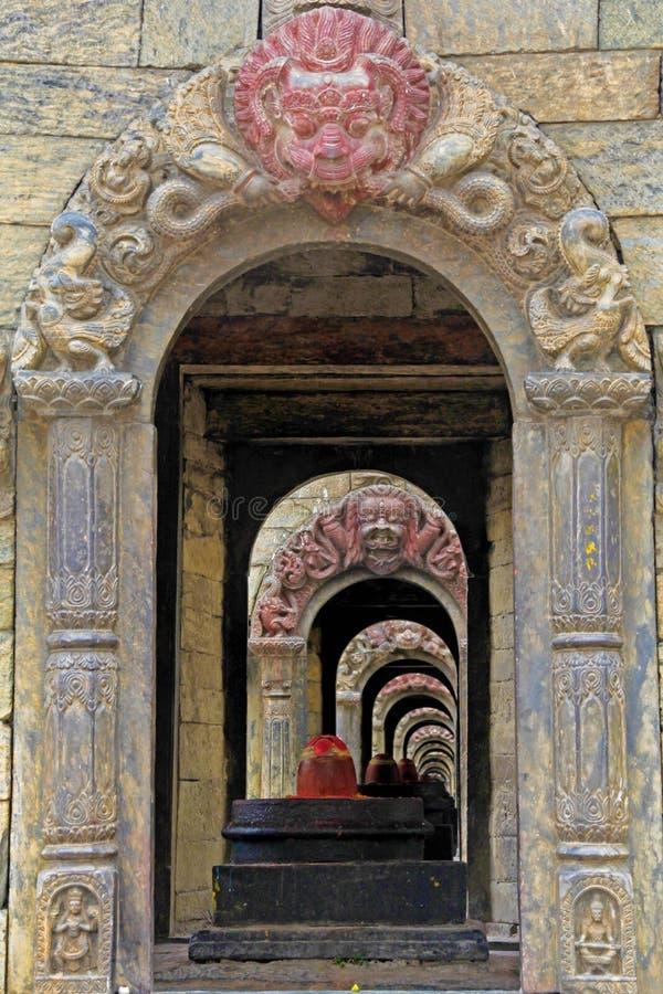 Shiva lingam Pashupatinath. Lingam at Pashupatinath Kathmandu Nepal capital royalty free stock image