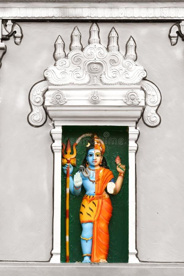 Shiva Parvathi royalty-vrije stock foto