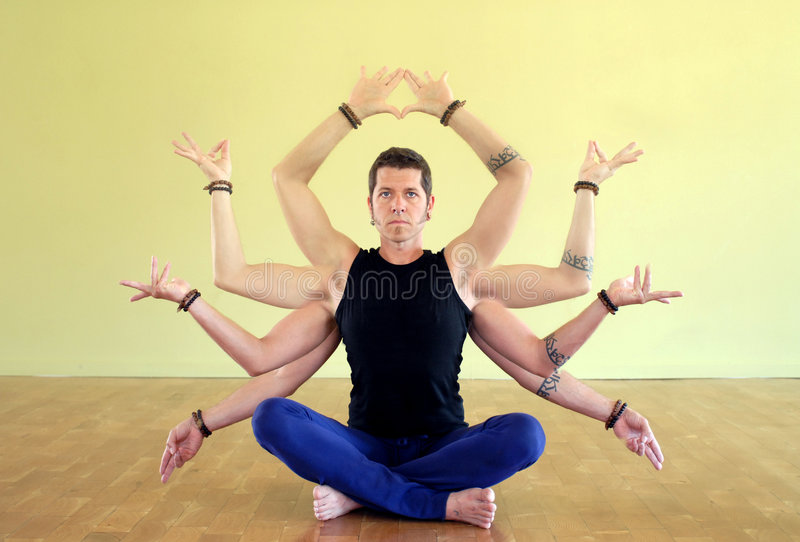 shiva shakti jogi obraz royalty free