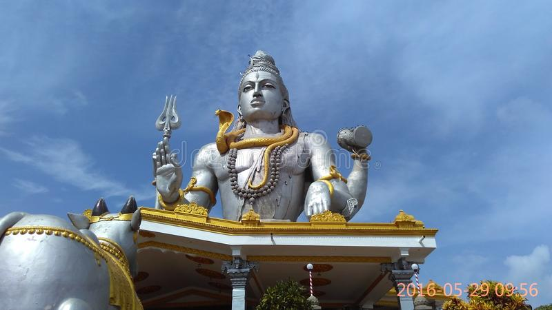 Shiva Statue stockfotos