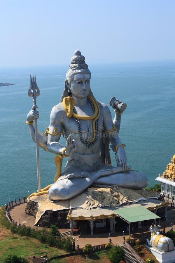 Shiva Statue lizenzfreie stockbilder