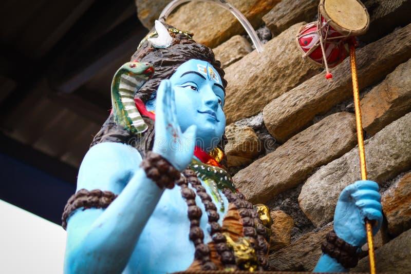Shiva Statue lizenzfreies stockbild
