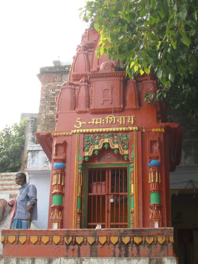 Download Shiva Street Shrine Near Assi Ghat Varanasi India Editorial Stock Image - Image of ganges, decorations: 78753269