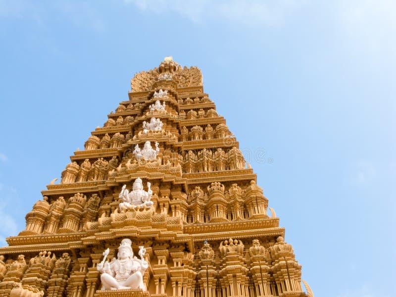 Shiva tempel arkivfoton