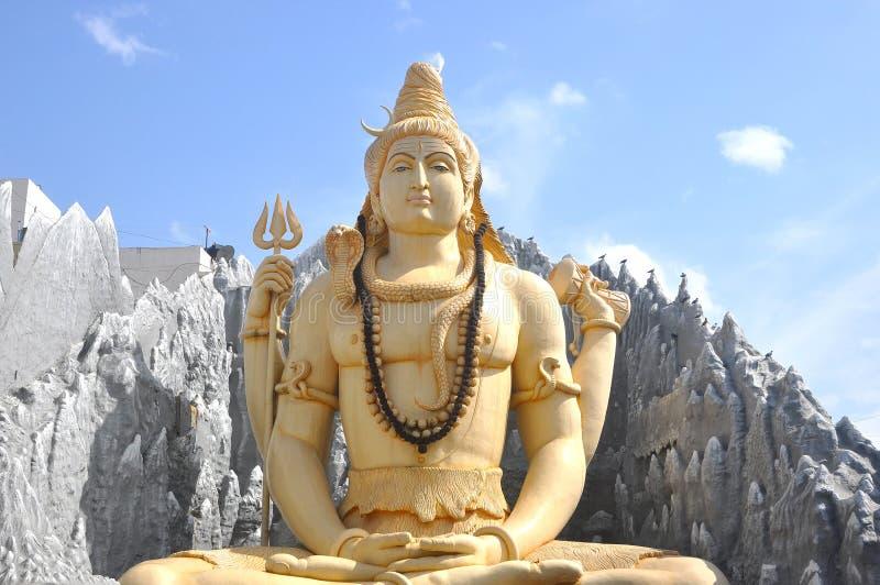 Shiva tempel Bangalore arkivfoto