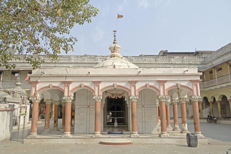 Shiva temple in Ahmedabad. Temple of Lord Shiva in central part of Ahmedabad, Gujarat royalty free stock photo