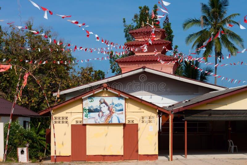 Shiva Temple, Chaweng, Samui, Tailandia immagine stock libera da diritti