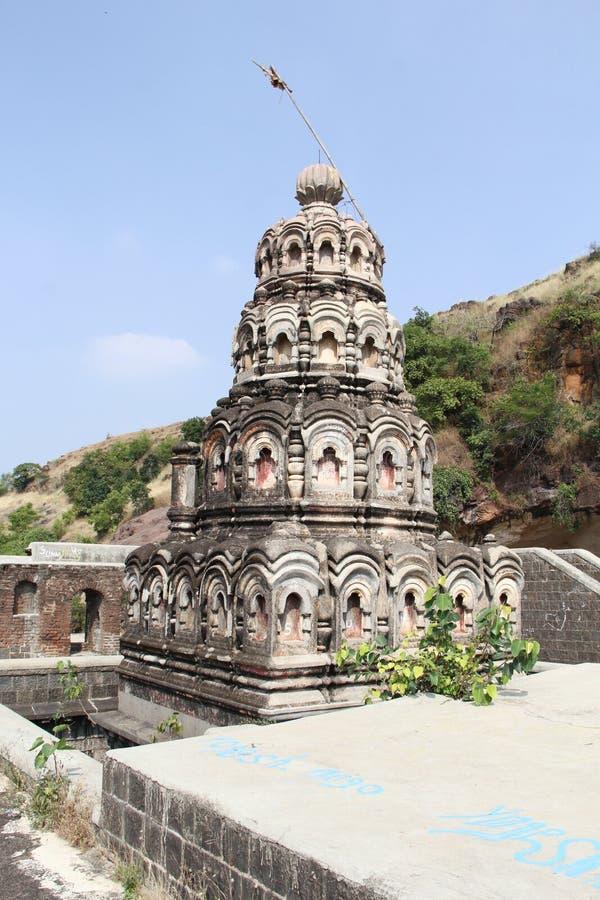 Shiva Temple in den Bergen stockbilder