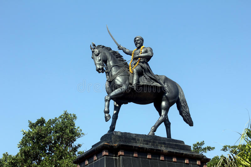 Shivaji 免版税库存图片