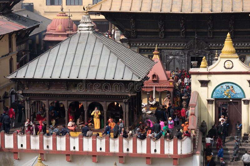 Shivaratri festival i Nepal arkivfoto