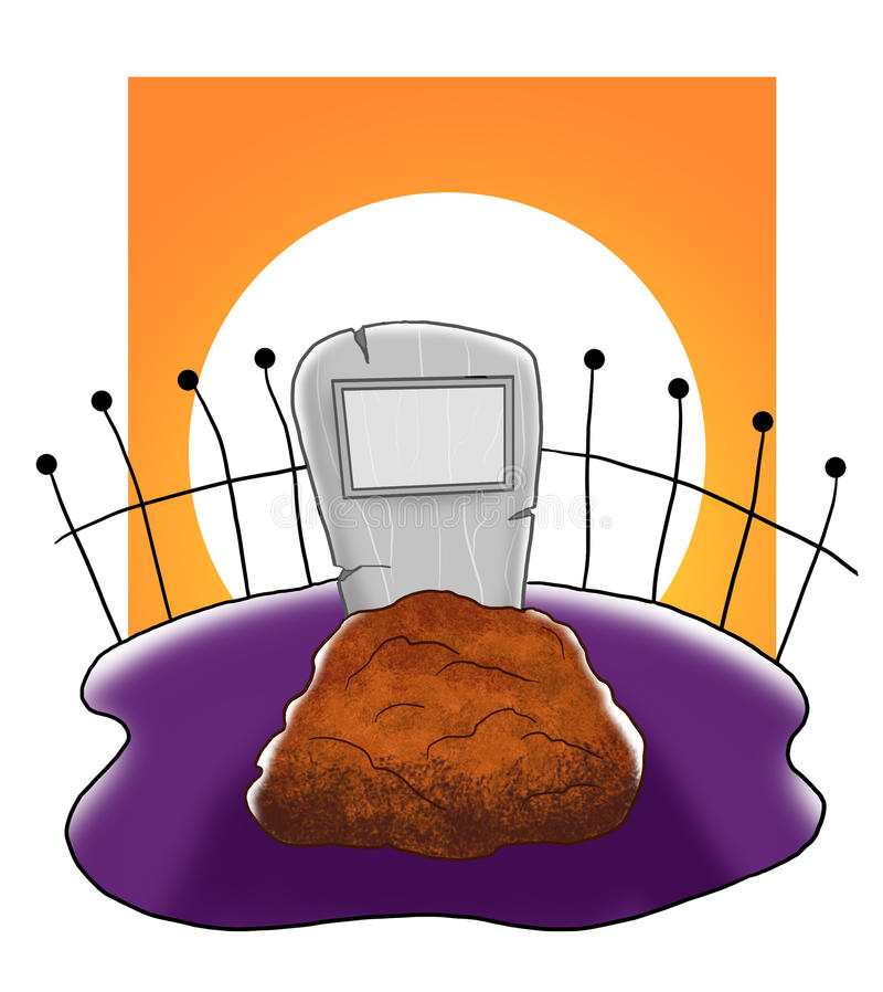 Download Shiver Grave Royalty Free Stock Photography - Image: 16203827