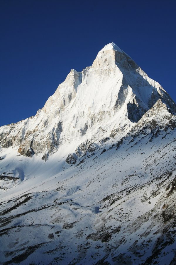 Download Shivling peak stock image. Image of contrasting, mystery - 3769123