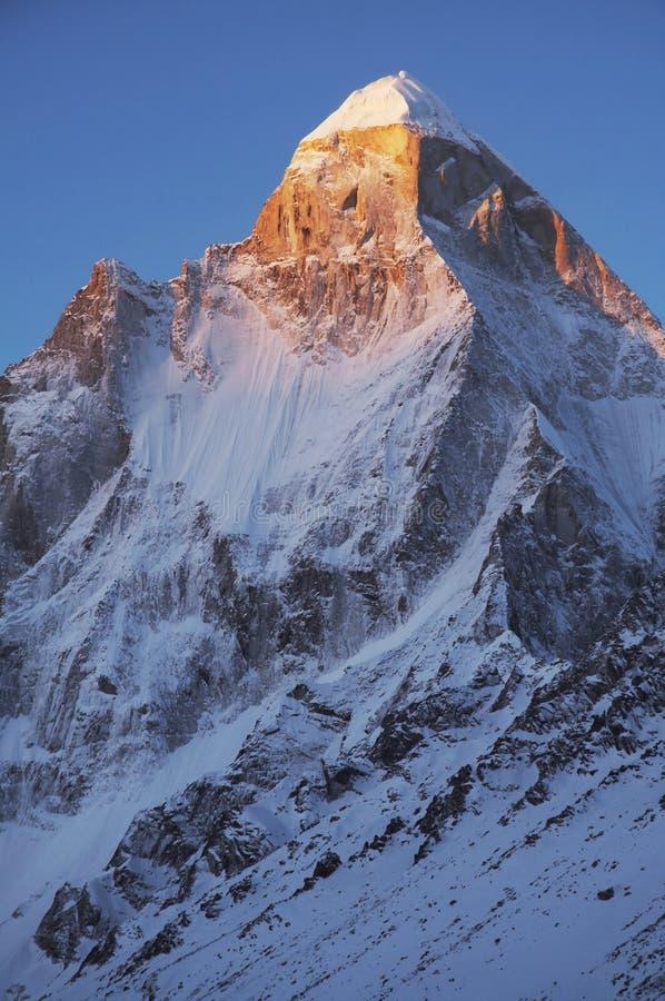 Download Shivling peak on sunrise stock image. Image of 6540, shadow - 2430127