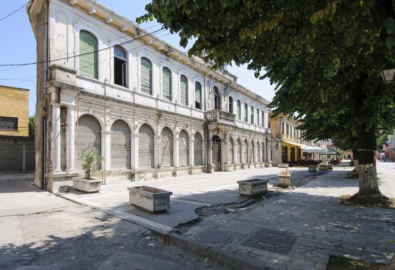 shkoder阿尔巴尼亚欧洲的中心 库存图片