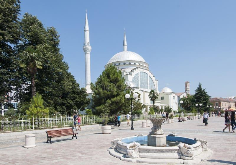 shkoder阿尔巴尼亚欧洲的中心 图库摄影