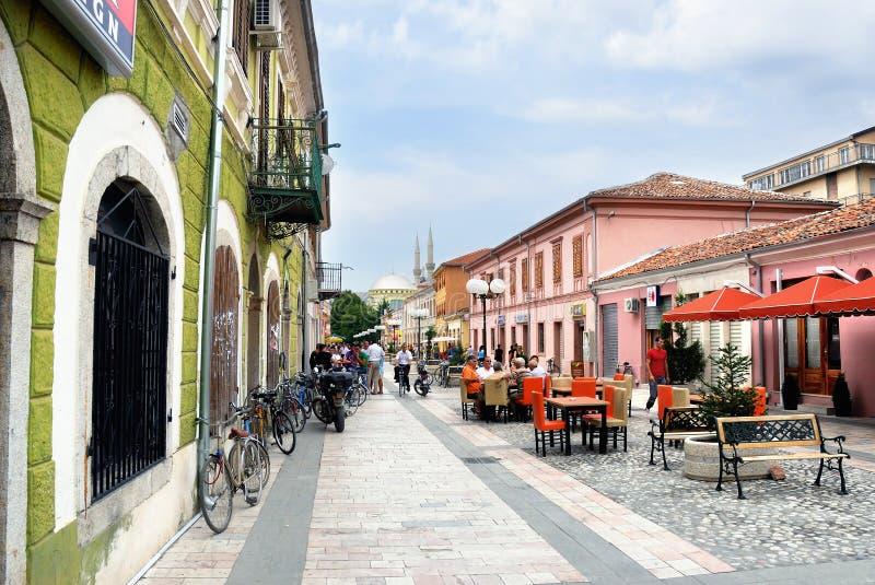 Shkoder Albanien arkivfoton