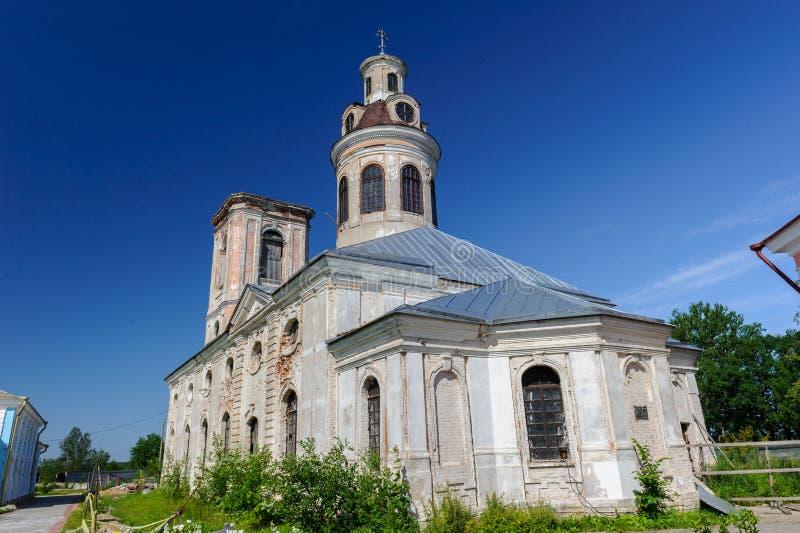 Shlisselburg. Blagoveshchensky Cathedral, Shlisselburg, Russian federation stock image