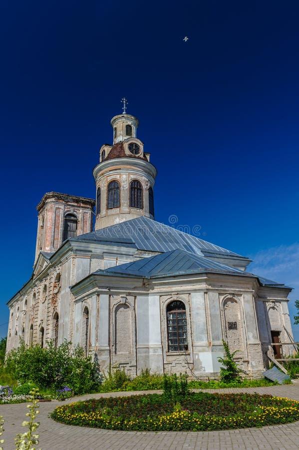 Shlisselburg. Blagoveshchensky Cathedral, Shlisselburg, Russian federation royalty free stock image