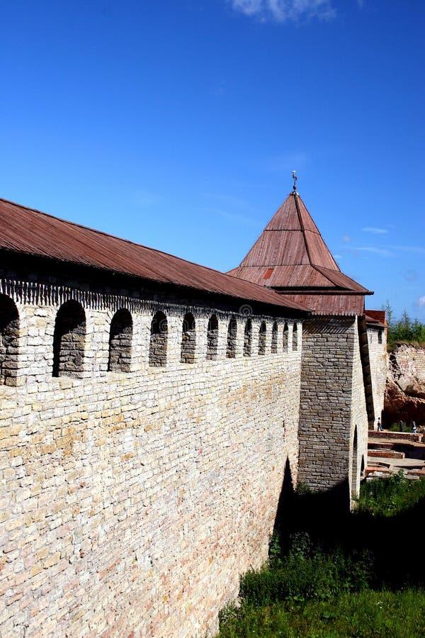 shlisselburg oreshek крепости стоковые изображения rf