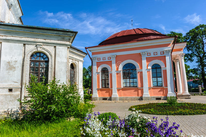 Shlisselburg. Town main church, Russian federation royalty free stock photography