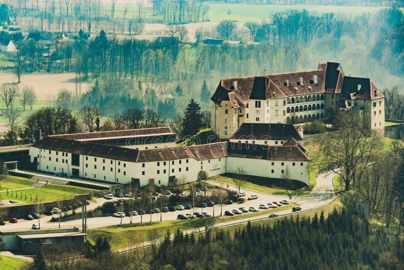 Shloss Saggau hotell Leibniz royaltyfri bild