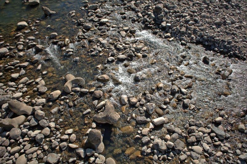 Sho River, Shirakawa-va, il Giappone fotografie stock