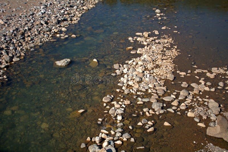 Sho River, Shirakawa-va, il Giappone immagine stock libera da diritti