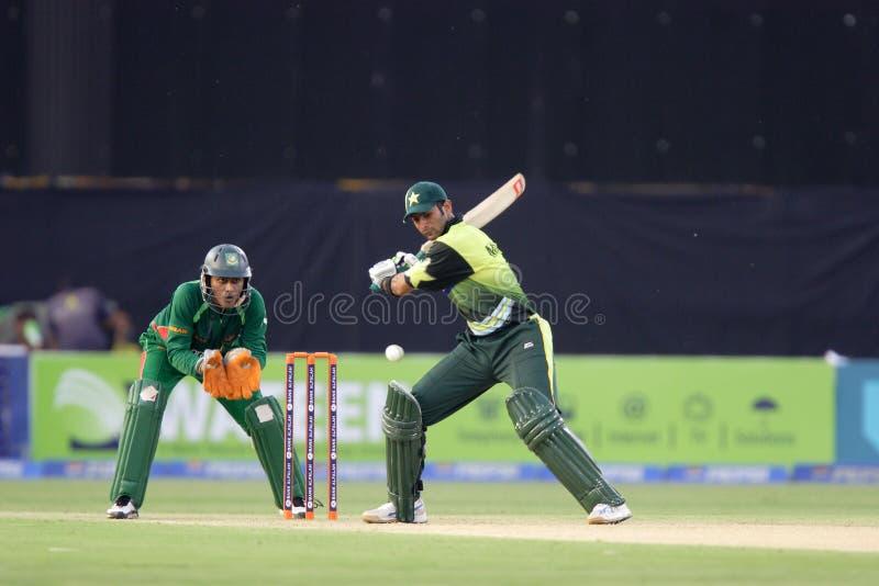 Shoaib Malik image stock