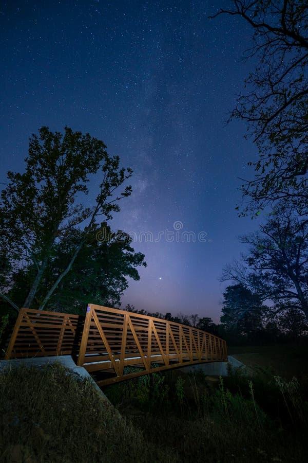 Shoal Creek Stars 02 stock photography