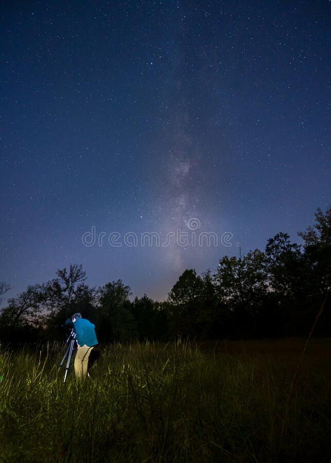Shoal Creek Stars 04 stock photography