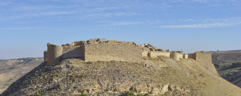 Shobak, Jordanie photo libre de droits