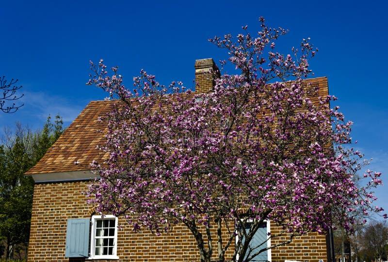 Shoberhuis in Historisch Oud Salem stock fotografie