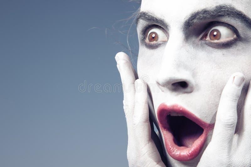 Shock royaltyfri fotografi