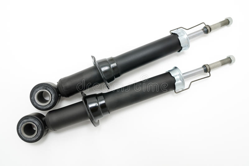 Shock absorbers royalty free stock images