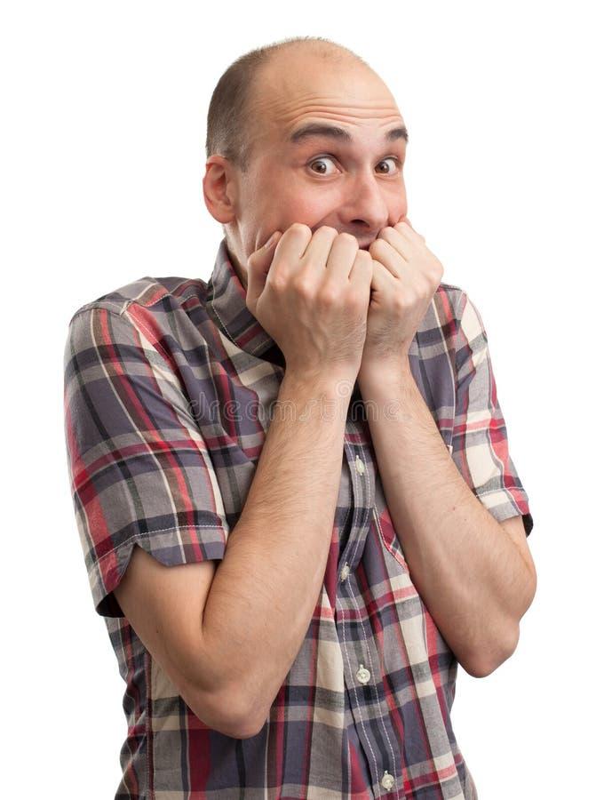 Download Shocked Bald Man Stock Photos - Image: 27654493
