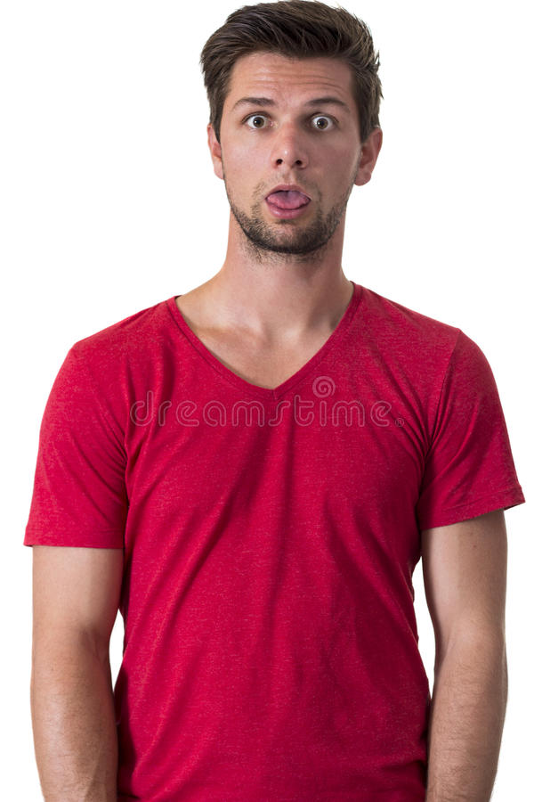 Download Shocked Expression stock image. Image of emotion, person - 26766039